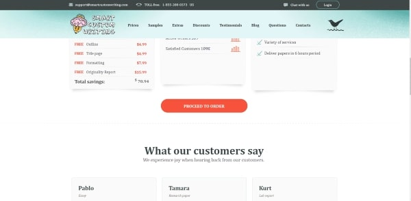 SmartCustomWriting Review